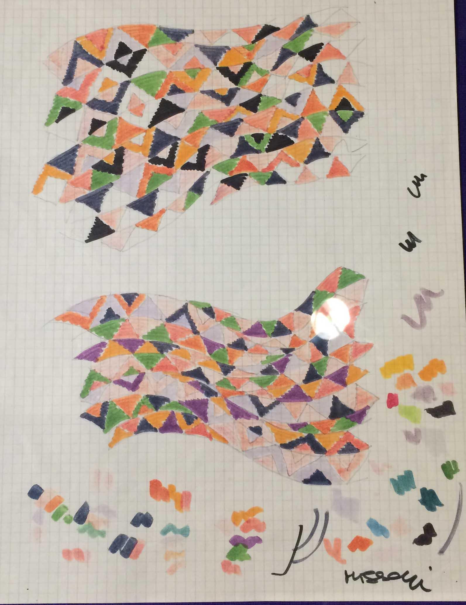 designing irregular patterns