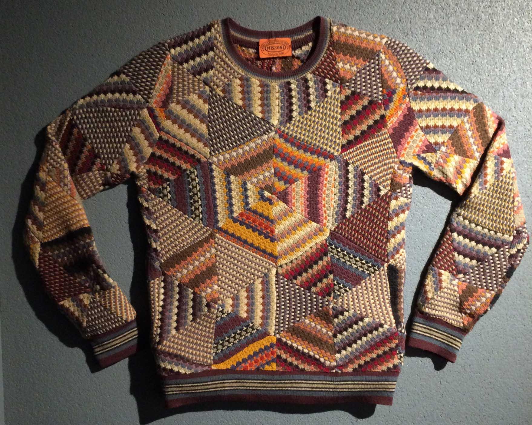 Missoni patchwork jumper