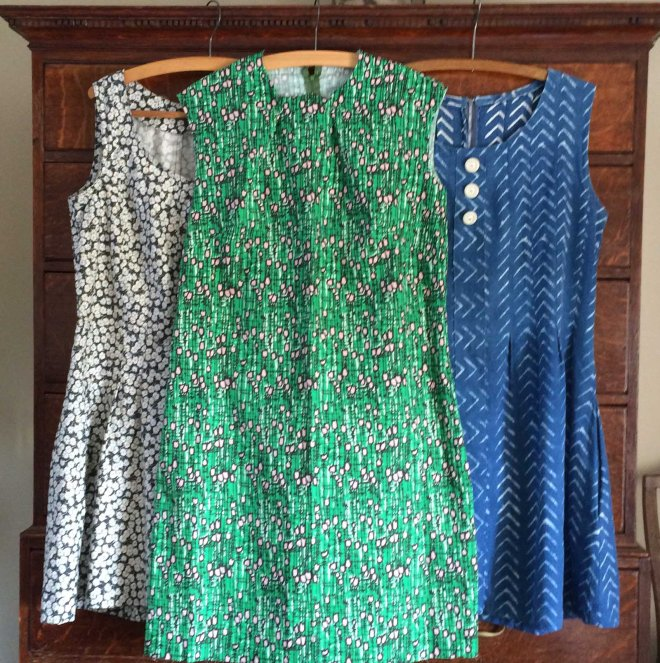 three-of-this-summers-handmade-dresses