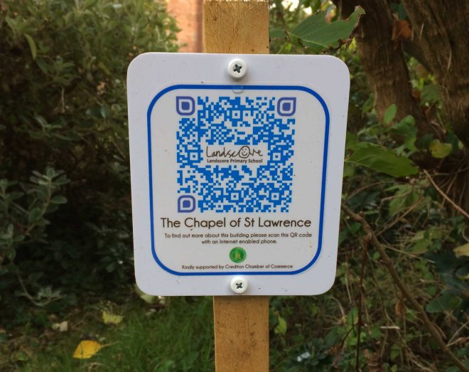 qr-sign-outside-st-lawrence