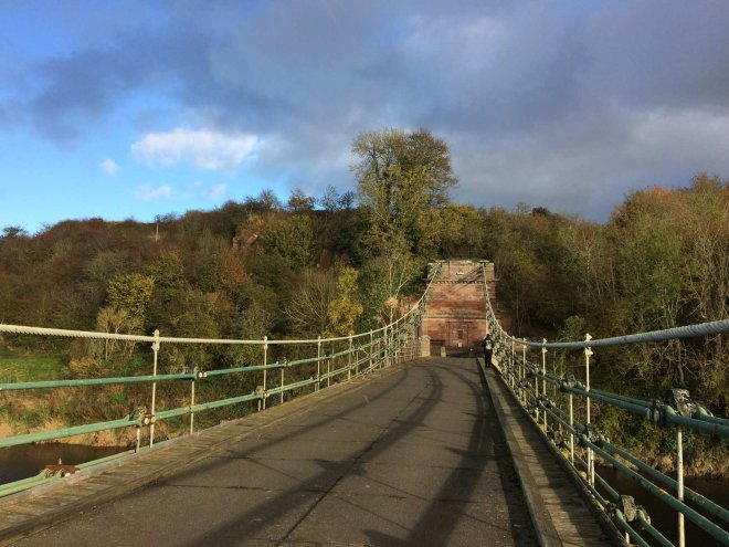 walking-back-over-the-union-chain-bridge-to-england