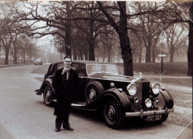 bow-with-his-rolls-royce-1959