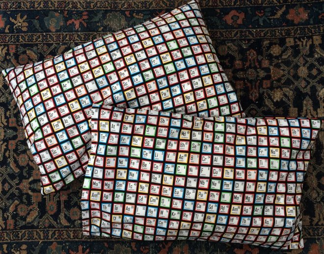 periodical-table-pillowcases