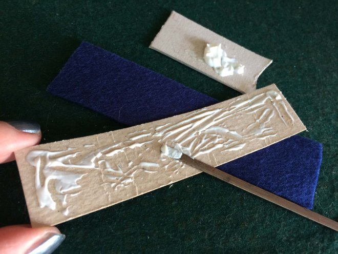 glue-cardboard-to-sides-of-felt