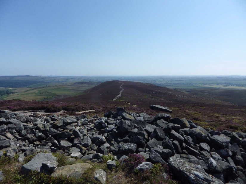 A walk on the Simonside hills