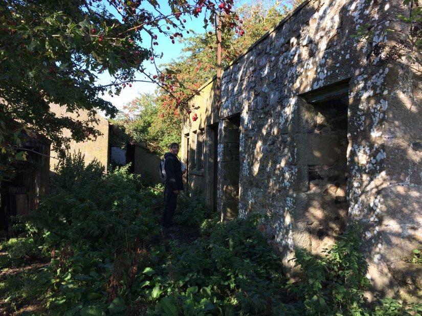 The deserted village of OldMiddleton