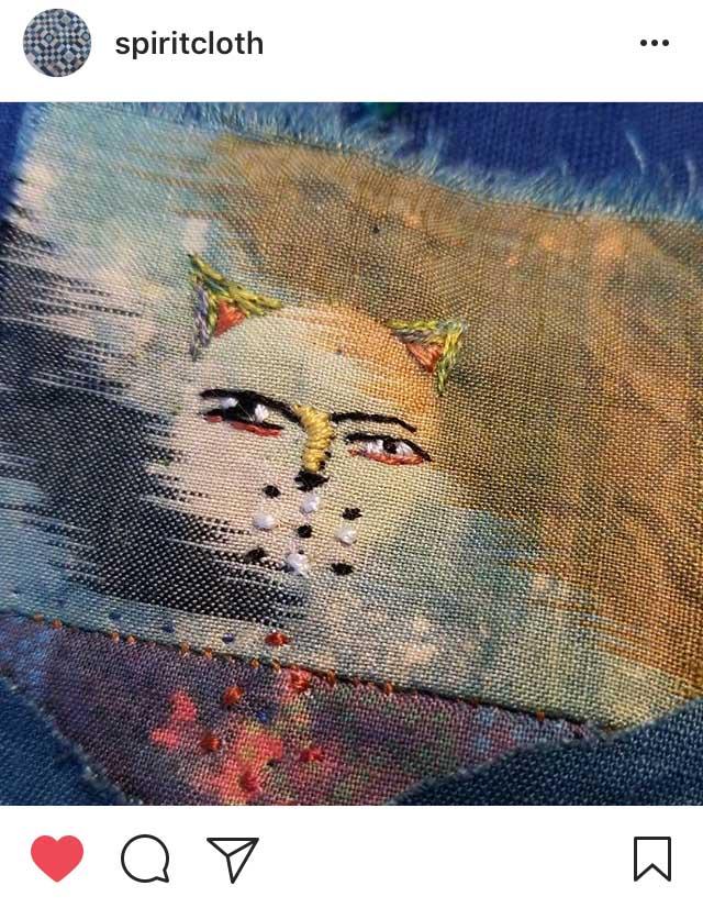 Spiritcloth face