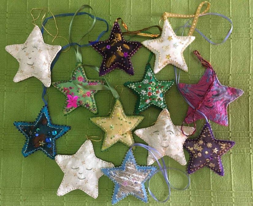 A handmade starryChristmas