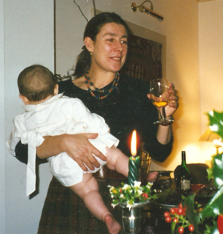 Marian & Bel, Christmas 1997