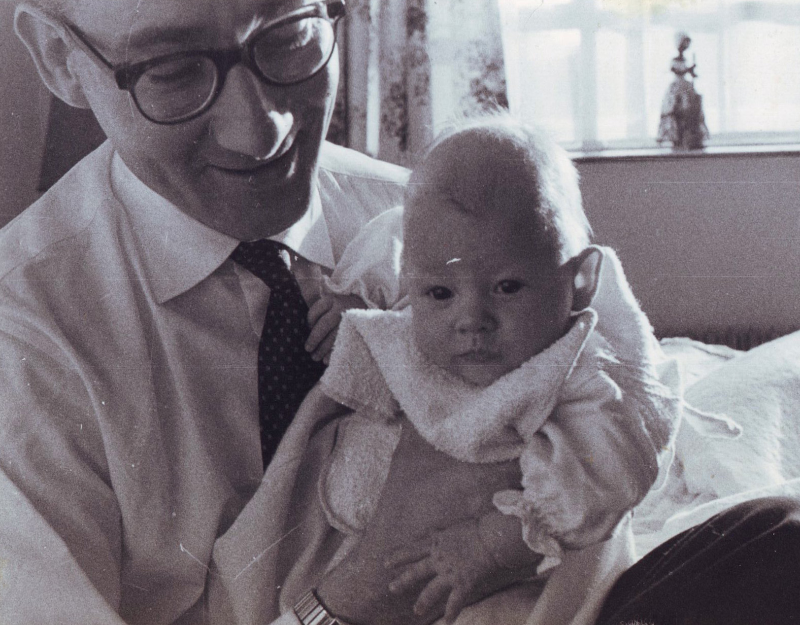 Maritn with Tim 1961