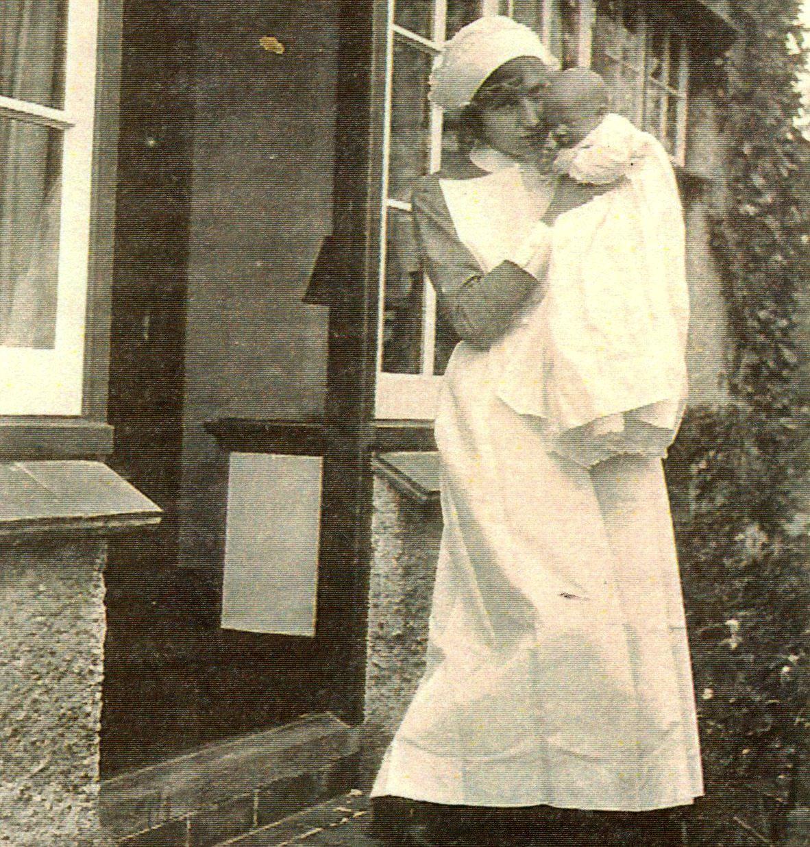 Nurse with Mary, 1924