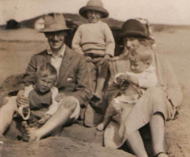 Waterfield family 1920s Devon