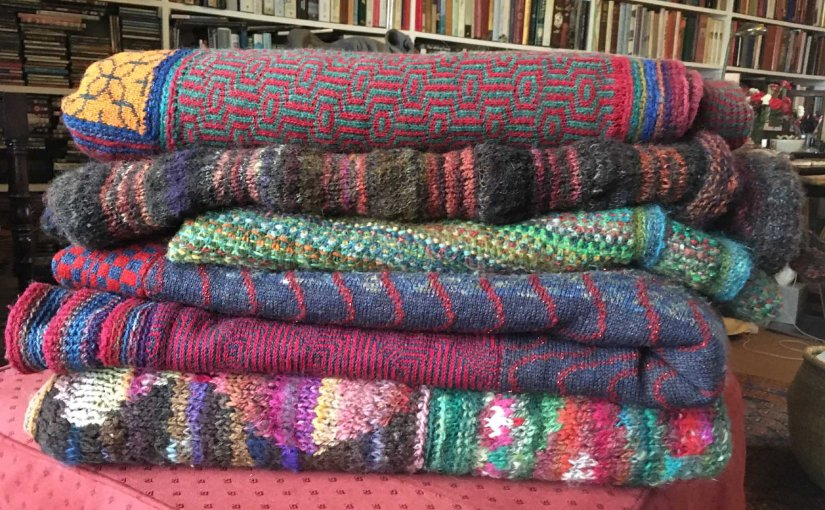Yet more knitted blankets …